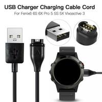 1m USB Chargeur Câble de données Chargeur fil pour Garmin Fenix 6 6S 6X Pro Fenix 5 5X Forerunner 945 5S 935 VivoActive 3