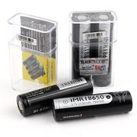 300pcs 100% de alta qualidade PRETO CELL 40A 18650 bateria 3100mAh IMR 3.7V 3100 40A 18650 baterias recarregáveis de lítio Baterias celular