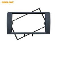 FEELDO Auto 2DIN Stereo Radio Panel Blendenrahmen Für AUDI A3 2003-2008 A3 (8P / 8PA) 2008-2012 Einbau Dash Fitting CD Rahmen Trim Kit # 5042