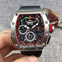 Yeni Büyük Tarih RM50-03 / 01 McLaren F1 İskelet Dial Miyota Otomatik Erkek İzle RM50-03 Çelik Kılıf Kauçuk Kayış Spor Saatler Hello_Watch MG28