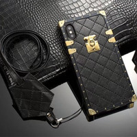 Luxury fashion show Designer Phone Cases PU Leather cover fo...