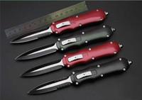 12 modelos B14 B23 B56 alumínio alça de liga de zinco dupla ação faca auto táticas 1pcs lanterna faca freeshipping Adker
