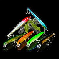 DHL shipping 6 Colors 1 0# Hooks Large Minnow Fishing Lure 1...