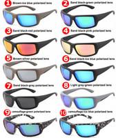 2019 مصمم العلامة التجارية الفاخرة نظارات TR90 المستقطبة نظارات شمسية للرجال النساء التزحلق النظارات الشمسية النظارات الشمسية الصيد عالية الجودة 580P عدسة
