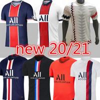 Novos Maillots de Futebol 19 20 21 Paris Jersey 2019 2020 2021 Mbappe Icardi 4th Shirt Home Away 3rd Maillot de Foot hommes Enfants