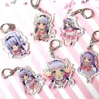 Hot Anime Kobayashi san Chi no Maid Dragon keychain for Bags...
