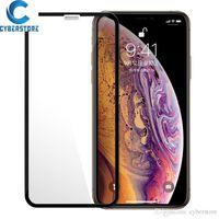 Tam Tutkal Kapak temperli cam Ekran Koruyucu iPhone 12 11 Mini Pro maksimum XS MAX X XR 8 7 6 artı