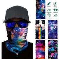 Galaxy 3D Imprimir seamle Balaclava Scarf Neck Warmer Neck Gaiter cobrir metade do rosto cabeça Bandanas Escudo Headband Headwear Homens Mulheres