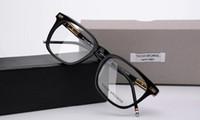 Männer Frauen Optisches Acetat Verordnungsschauspiel Square tb402 TB-402 Myopie Brillengestell Brillen TB-402A