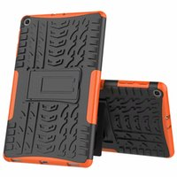 Dazzle Hybrid Kickistand Faction Rugged الثقيلة TPU + PC Cover Case for Samsung Galaxy Tab A 10.1 2019 T510 T515 TAB S3 9.7 T820 100PC / LOT
