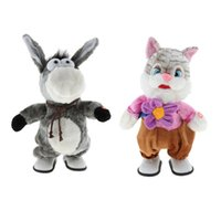 Kids Baby Electronic Soft Plush Animal Doll Walking with Mus...