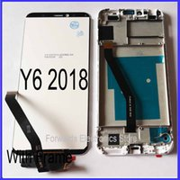 Для Huawei Y6 2018 ЖК-экран Y6 премьер 2018 ATU L11 L21 L22 LX1 LX3 L31 L42 с сенсорным с рамкой Ассамблеи
