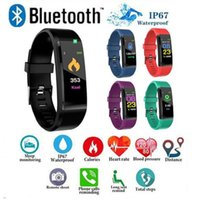 Newest Fitbit ID115 Plus Smart Band Bracelet Color LCD Scree...