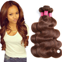 Malaysian Body wave colored hair #4 Body Wave human hair wea...
