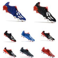 الكلاسيكية المفترس هوس المعذب حزمة LE المرابط OG FG الأحمر اليابان الأزرق بيكهام ZZ 1998 رجل OG طبعة محدودة كرة القدم أحذية كرة القدم