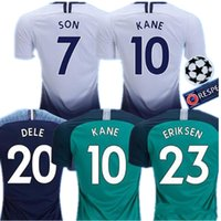 18 19 soccer jersey KANE DELE football shirts top kits DEMBE...