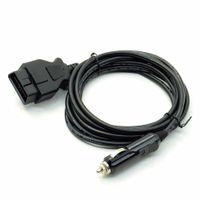 담배 라이터 어댑터 OBD2 II 긴급 케이블 12V 메모리 보호기 어댑터 커넥터 forcar / 차량