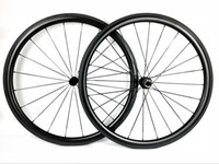 Urltra-Light 700C 38MM عمق الكربون عجلات 25 ملليمتر العرض الفاصلة الطريق دراجة العجلات مع r13 hubs 3k twill لامع النهاية شحن مجاني