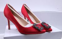 2019 italie marque Mercerized denim véritable soie chaussures de mariage d'argent strass talons hauts chaussures de mariée avec