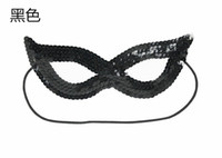 Sequins Mask Halloween Masks Perform Patch Masquerade Party Supplies Night Club Queen And Prince Adults And Children Can Use It 1 5xl k1