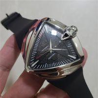 Top Quality Mens Luxury Watch Brand Acciaio inossidabile Gomma Strap Automatico Movimento Automatico Sport maschile Orologio da polso orologio regalo