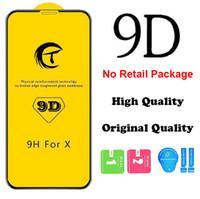 Hohe Qualität 9D voller Abdeckung Schutz Temperiertes Gla Telefon Bildschirmschutzfolie für iPhone X XS XR 6 7 8 Plus 13 12 Mini 11 Pro max
