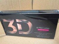 Vente chaude 1030 Version 3D Fibre Lashes Double Mascara imperméable Lashes de fibre 3D Set Maquillage Cils de maquillage 2pcs = 1set DHL Libre Ship