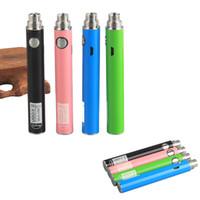 Ugo-V II Vape Kalem Pil E Çiğ Şarj Edilebilir Mikro USB Passthrough 650 900mah Fit Atomizörler Kartuşlar Önceden Piller USB Kablosu ile