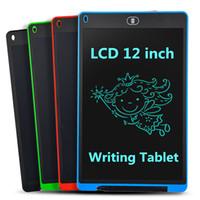 الرسومات اللوحي الالكترونيات الرسم الذكية lcd كتابة أقراص رسومات القابلة للمسالة لوحة 8.5 12 بوصة ضوء لوحة اليد القلم خط اليد