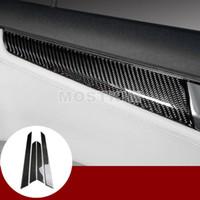 Fibre de carbone avant arrière voiture panneau de porte couverture pour Benz Classe C W204 2007-2013