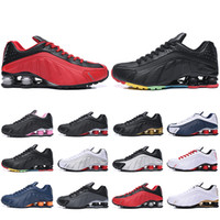 With Box Shox R4 Running Shoes For Men Women Zapatillas Homb...