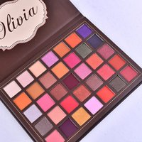 35colors Eye shadow Palette Olivia makeup Palettes Shimmer M...