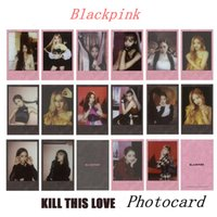 Kpop Blackpink Kill This Love Paper Photo Card New Album Lis...