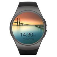 KW18 Smart Watch Vollbildschirm Abgerundete Android IOS Bluetooth Reloj Inteligente SIM-Karte Pulsuhr Uhr Mic Anti verloren Armband