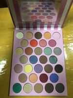 جديد وصول ماكياج لوحة 32 ألوان ظلال لوحة وميض ماتي جودة عالية ظلال العيون