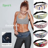 Women Running Waist Bag 3D Print Fanny Packs Hip Belt Bags M...