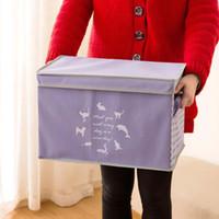 Kleidung Spielzeug Aufbewahrungsbox Teiler Kleidung Box Kleinigkeiten Veranstalter Kosmetik Make-up Container Schrank Boxen können zusammengefaltet werden Kombination