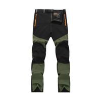 Nouveau Pantalon respirant rapide mince sec Homme d'été en plein air Sport Trekking Trousers Camping, randonnée Pantalons 4XL VA004