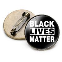 Ich kann nicht atmen Demonstranten neun Arten von Kleidung Abzeichen Demonstration Abzeichen BLACK LEBT MATTER T3I5816