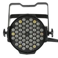 Бесплатная доставка DJ освещения этап освещения Par освещение DMX 512 54x3W RGBW Крытый LED Par 64 Свет