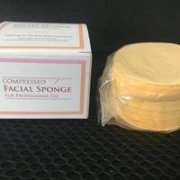 Komprimierte natürliche Zellulose-Gesichtsschwämme (50 Zählung) 65mm * 10mm Komprimierter Schwamm für Berufsgebrauch 50pcs / set Heißer Verkauf