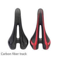 Esponja de alta Qualidade leve e cheio de fibra de carbono arco mtb bicicleta de estrada sela bicicleta almofada de Assento Oco acessórios de ciclismo