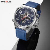 Weide Sports Кварцевые наручные часы аналогового цифрового Relogio Masculino бренд Reloj Hombre армии кварцевые военные часы мужские часы
