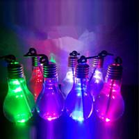 Bombilla LED de verano Copa Bebidas 400ml botella con jugo tapa té de frutas Bebida botella de agua de uso para la leche Tea Shop M1411