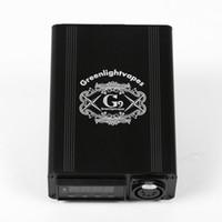 G9 Greenbrevervapes Mini Enail XMT-7100 Bolsa Digital Control de temperatura precisa con LED y puerto USB