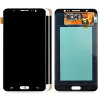 AMOLED لسامسونج غالاكسي J7 2016 العرض J710M J710H J710FN العرض LCD تعمل باللمس محول الأرقام مع LOGO دي إتش إل الحرة