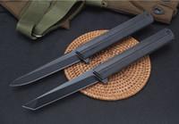 Квартирмейстер Qwaiken Tatical Flipper складной нож Titanium ручка M390 лезвия керамический шарикоподшипник на открытом воздухе выживания охотничьи ножи EDC инструмент