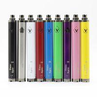 Vision Spinner II 2 Batterie Classic Vape Pen 1600MAH 3.3V-4.8V Piles à tension variables EGO USB Chargeurs