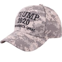 add7a80b New Arrival. Camouflage Trump 2020 Baseball Hat Men Fashion Keep America  Great ...