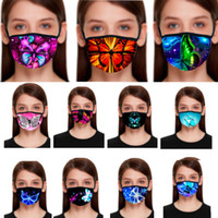 Fashion 3D Butterfly Designer Mask Women Mouth Mask Adult Du...